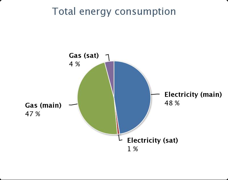 Energy Pie Chart Cambridge University Environmental Consulting Society